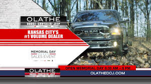 dodge ram memorial day sale olathe dodge chrysler jeep ram memorial day dealer of the year