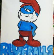 papa smurf blue balls supermrdaisy deviantart
