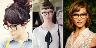 short hairstyles with glasses and bangs hairstyle ideas for a small forehead and glasses women hairstyles