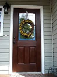 Paint For Doors Exterior Gel Stain Already Painted Door Home Ideas And Decorating