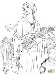 ruth in the fields coloring page free printable coloring pages