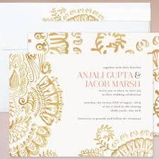 mehndi invitation chic mehndi wedding invitation collection multiculturally wed
