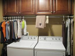laundry room cabinets with hanging bar design and ideas idolza