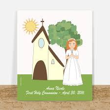 personalized communion gifts communion gifts custom portrait
