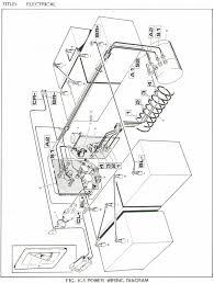 ez go golf cart battery wiring diagram gooddy org