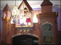 Princess Castle Bunk Bed Wonderful Princess Loft Bed Plans And Ana White Playhouse Loft Bed