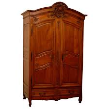 Armoire Chest Of Drawers 19th Century French Cherry Wood Armoire With 4 Drawers For Sale At