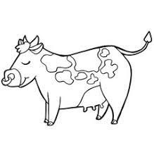 rhinoceros cartoon coloring pages royalty free vector image