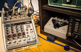 using a mixing console in the radio shack the swling post
