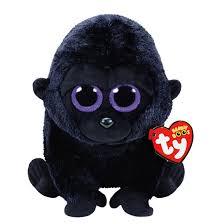 ty beanie boo medium george gorilla plush toy claire u0027s
