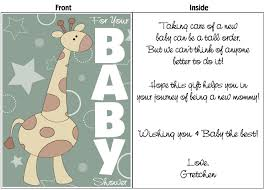 baby card personalize baby shower expecting baby cards online