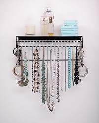 bracelet necklace organizer images Wall hanging jewelry organizer v jpg