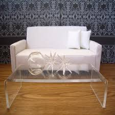 lucite waterfall coffee table lucite waterfall coffee table with inspiration design