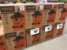 home depot verizon cell phone black friday ridgid 16 gal 5 0 peak hp wet dry vac 49 88 home depot b u0026m