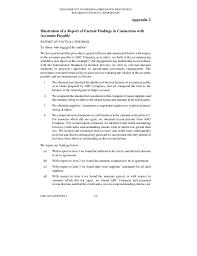 agreed upon procedures report template b015 2010 iaasb handbook isrs 4400