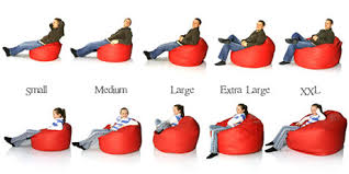 bean bags sizing guide find the bean bag size for you