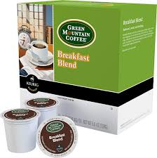 Blend K Cups Keurig Green Mountain Breakfast Blend K Cup Pods 18 Pack Multi