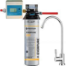 depuratore acqua rubinetto depuratore acqua everpure 2dc con testa ql2b contalitri e rubinetto