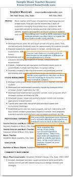profile resume exles sle resume