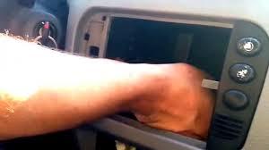 como desmontar la consola del aire acondiciona para citroen c3