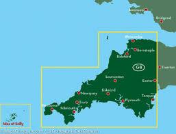 Exeter England Map by Map Of Cornwall England Freytag U0026 Berndt U2013 Mapscompany