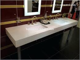 Commercial Bathroom Sinks Stupefying Double Porcelain Bathroom Sink Commercial Porcelain