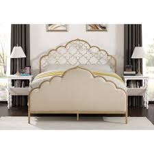 moroccan quatrefoil queen bed free shipping today overstock