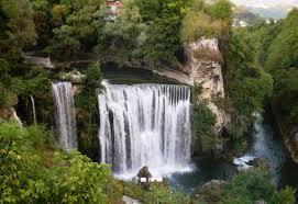 waterfall butro river forest jajce waterfalls nature beutiful