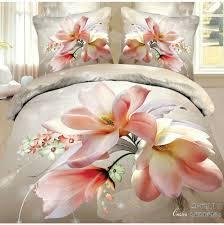 affordable linen sheets pink rose wedding bedclothes 4pc 3d bedding set queen size duvet