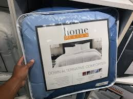 home design down pillow or down alternative comforter only 24 99