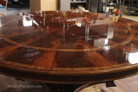 mahogany dining room table extra large 88 round mahogany dining table with perimeter leaves