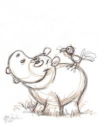 25 trending hippo drawing ideas on pinterest quirky art