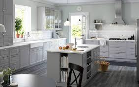 contemporary kitchen ikea bodbyn ladefront grijs ikea kitchen