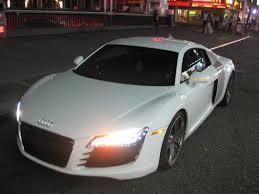 Audi R8 White - white nights audi r8 autokinesis