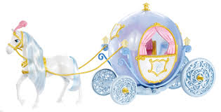 girls princess carriage bed blue pumpkin carriage bed with blue wheel and white horse of
