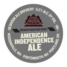 Backyard Series Redhook American Independence Ale On Deck In Brewery Backyard