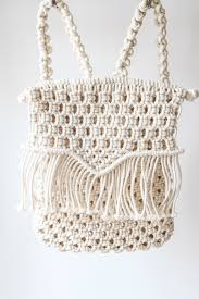vagabond backpack zelf maken pinterest backpacks macrame