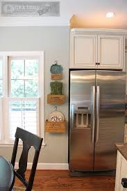 from yellow to blue a kitchen transformation wall color