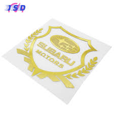 subaru forester emblem auto styling auto sticker body decoratie embleem venster decal