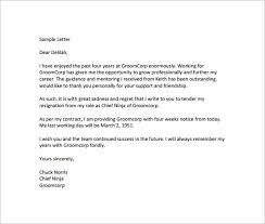 example of letters of resignation nursing job resignation letter