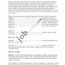 Example Career Objectives For Resume by Appealing Sample Resume Objectives For Internship Position Sample