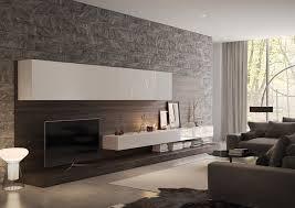 steinwand fã r wohnzimmer die besten 25 wand hinter tv ideen auf tv