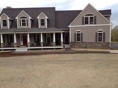 Colonial House With Farmers Porch Farmers Porch On Colonial Home Google Search Home Improvements