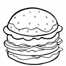 Cheeseburger Coloring Page cheeseburger coloring pages cheeseburger nathan