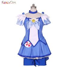 Glitter Halloween Costumes Aliexpress Buy Halloween Smile Precure Glitter Force Aoki