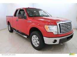2010 vermillion red ford f150 xlt supercab 4x4 107570384