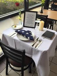 Missing Man Table Script The Pow Mia Table A Place Setting For One A Table For All Navy