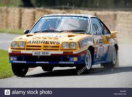 opel rally car group b opel manta 400 rally race racing car at goodwood festival