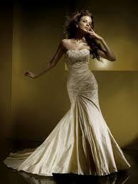 gold mermaid wedding dresses naf dresses