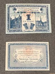 chambre du commerce caen 1 franc chambre de commerce et de l industrie 1920 n e191 eur 3 72